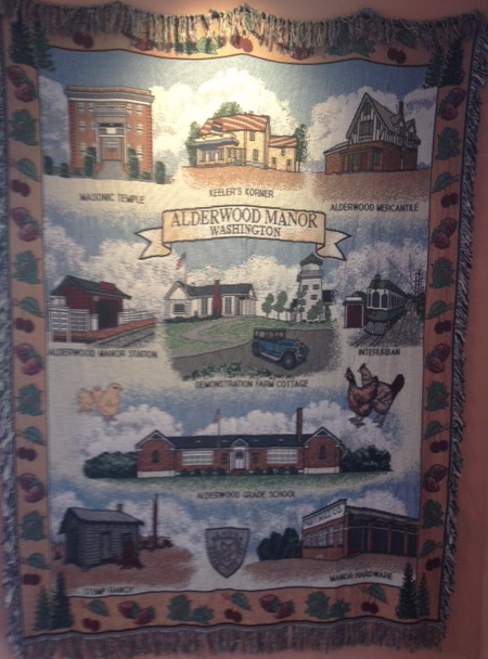 Alderwood Manor Heritage afghan